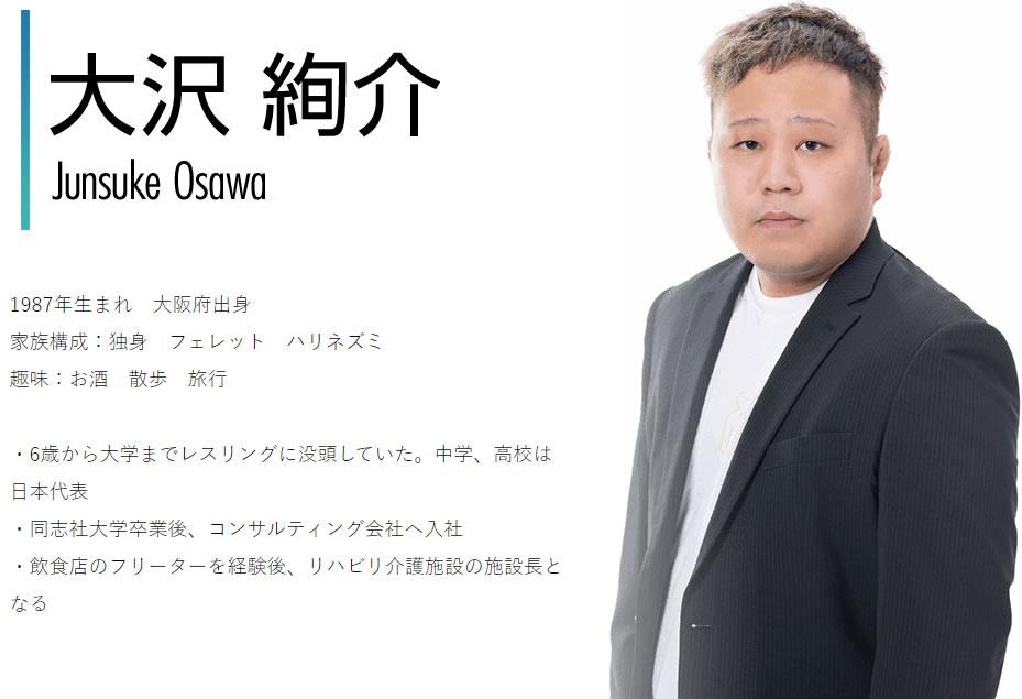 大沢絢介(おおさわじゅんすけ)画像
