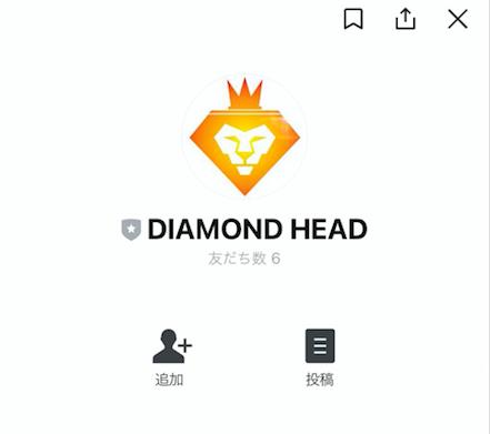 DIAMOND HEADLINE追加画像