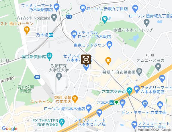 トライセブンマップ画像