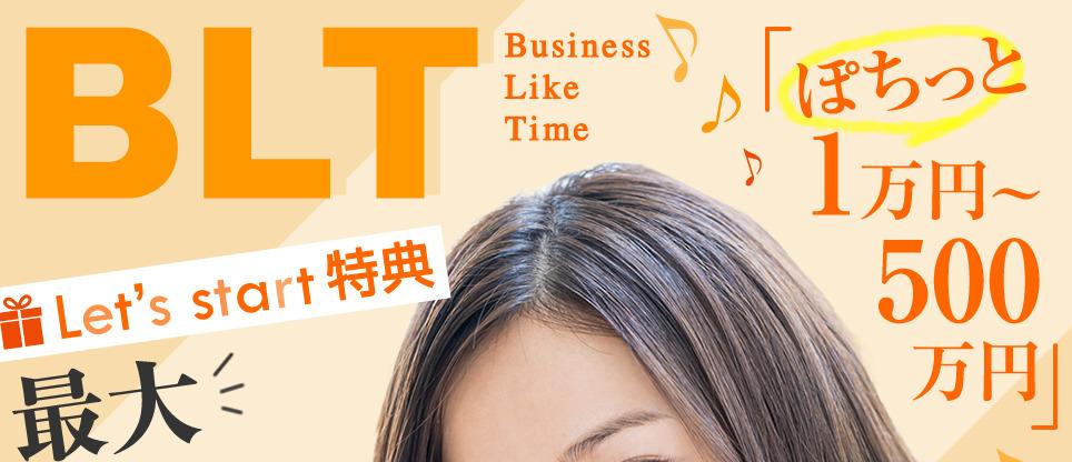 BLT(ビジネスライクタイム)500万円表記画像